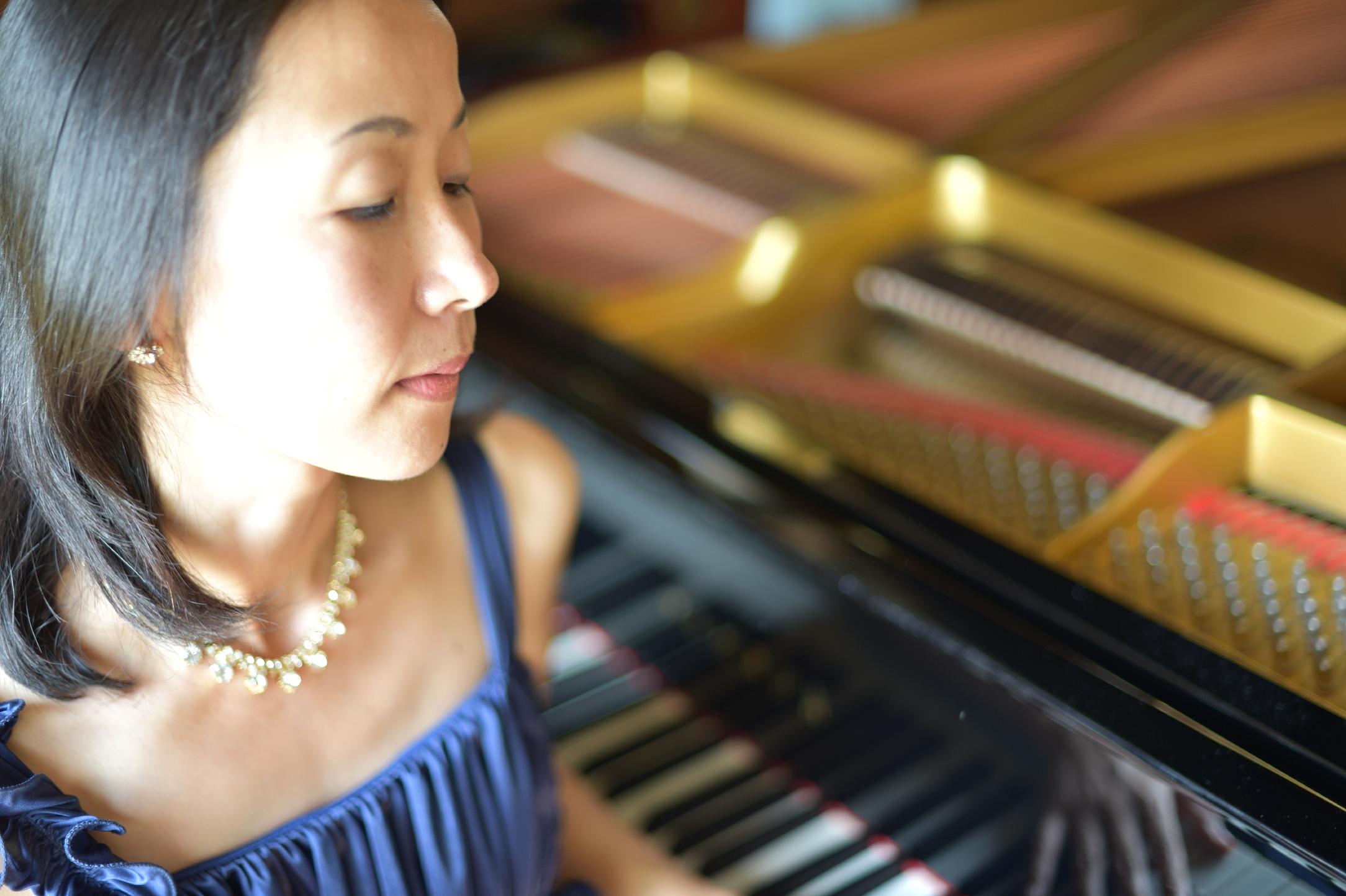 プロピアニスト  水垣直子さん