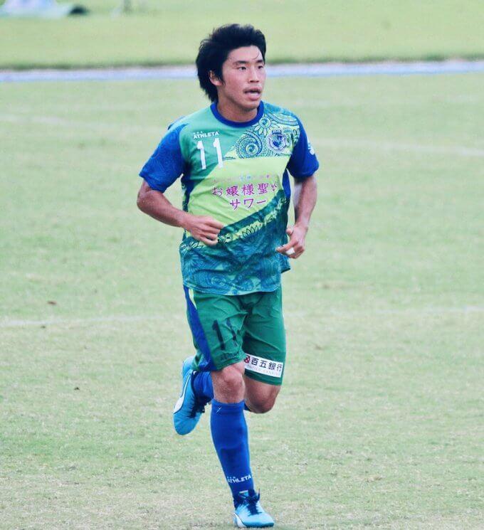 プロサッカー選手  泉宗太郎 選手